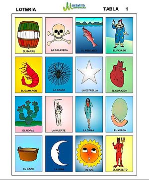 photograph about Printable Loteria Mexicana identified as Loteria Mexicana