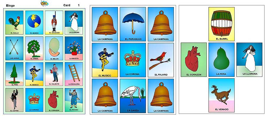 photograph about Printable Loteria Mexicana referred to as Print Loteria
